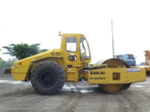 บริการให้เช่ารถบด สำหรับบดอัดหน้าดินสำหรับงานปรับพื้นที่ งานถนน