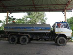 เช่ารถบรรทุกของเหลวสำหรับขนน้ำ
