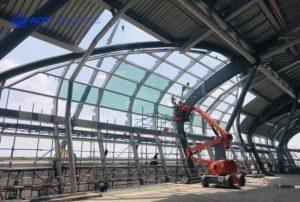 เช่าเครื่องจักรหนักสำหรับงานก่อสร้าง สนามบิน ท่าเรือ ทางรถไฟ