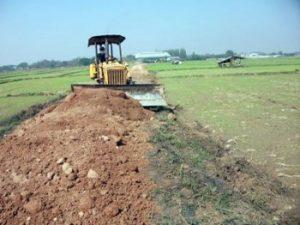 เช่าเครื่องจักรหนักสำหรับงานก่อสร้าง ปรับที่ดิน เพื่อการเกษตร